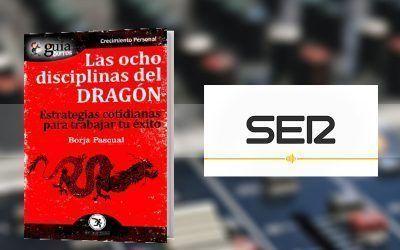 Borja Pascual con su «GuíaBurros: Las Ocho Disciplinas del Dragón» en «Hoy por hoy», en La Ser