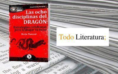 El «GuíaBurros: Las ocho disciplinas del dragón» en el medio escrito Todo Literatura